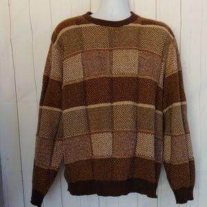 Bill Blass Men's Brown Tones Sweater